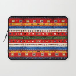 N35 - Bohemain Colored Moroccan Traditional Andalusian Artwork. Laptop Sleeve