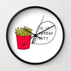Is it Fryday yet? Wall Clock