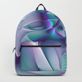 A Colorful Beauty, Abstract Fractal Art Backpack