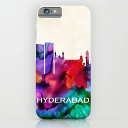 Hyderabad Skyline iPhone Case