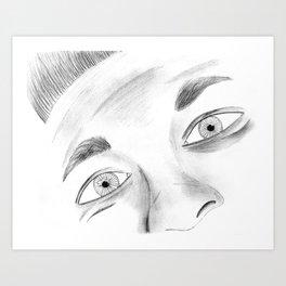 A Lack of Expression Art Print