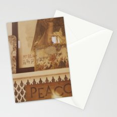 Moroccan Peacock Stationery Cards