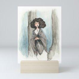 Claire Fraser Mini Art Print