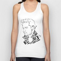 liam payne Tank Tops featuring Typographic Liam by Ashley R. Guillory