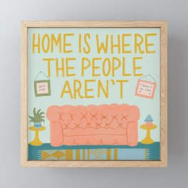 Home Sweet Home Framed Mini Art Print