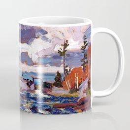 Tom Thomson - Tea Lake Dam - Canada, Canadian Oil Painting - Group of Seven Coffee Mug