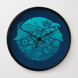Aquatic Spectrum Wall Clock