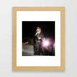 King Diamond Mercyful Fate Framed Art Print