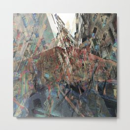 effectively syncopating the coherence in actuality Metal Print