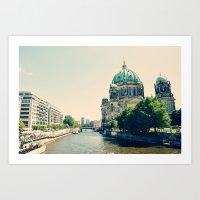 berlin Art Prints featuring Berlin by Arevik Martirosyan