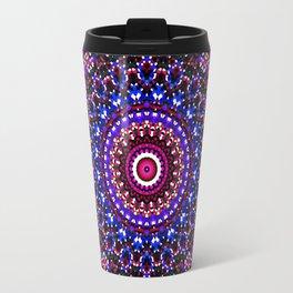 Mosaic Kaleidoscope 2 Travel Mug