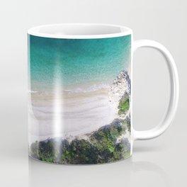 Aerial photograph of empty beach Coffee Mug