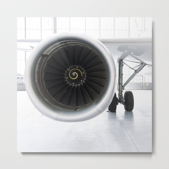 ghost of the modern age... Metal Print