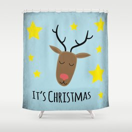 Its Christmas Shower Curtain