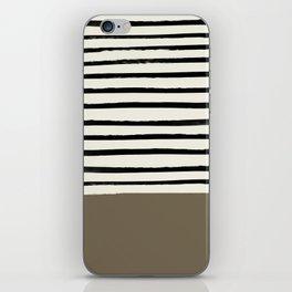 Cappuccino x Stripes iPhone Skin
