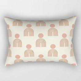 Full moon rainbow pattern collection SS01 Rectangular Pillow