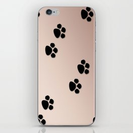 Paws in Sand iPhone Skin