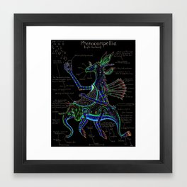 Photocompellia (light-gatherer) Framed Art Print