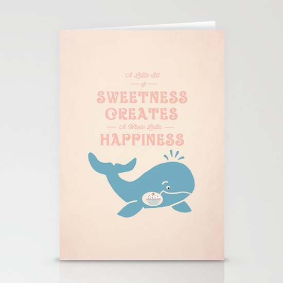 A Little Sweetness Stationery Cards