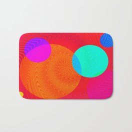Re-Created Twisters No. 4 by Robert S. Lee Bath Mat