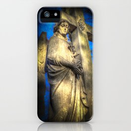 Angel Watching Over You iPhone Case
