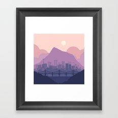 Lavender Morning Framed Art Print