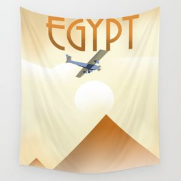 Egypt Travel poster Wall Tapestry