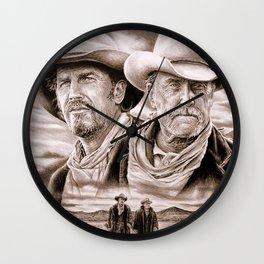 The Open Range Wall Clock