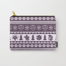 "Roll for Initiative Fair Isle in ""Sugarplum"" Tasche"