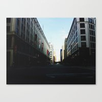 milwaukee Canvas Prints featuring Milwaukee, WI by Tatum Kevlin