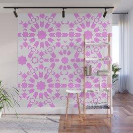 Pink Arabesque Wall Mural