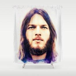 David Gilmour, Music Legend Shower Curtain