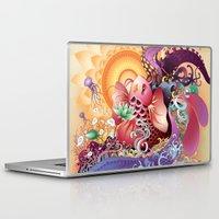 koi Laptop & iPad Skins featuring Koi by Nick La
