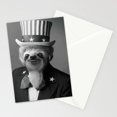 Life as an American Sloth Stationery Cards
