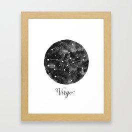 Virgo Constellation Framed Art Print