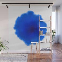 Blue splash Wall Mural