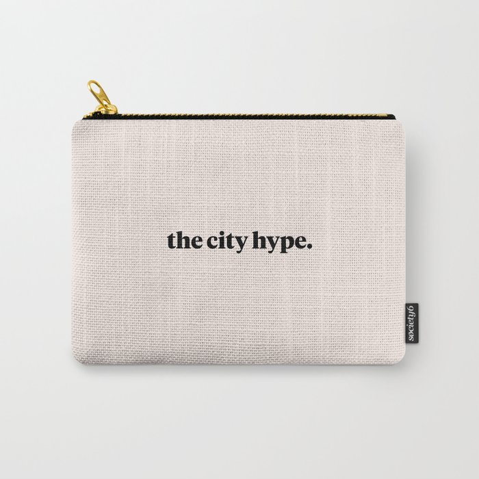 The City Hype Pink Carry-All Pouch
