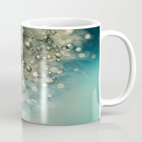 sparkles Mugs featuring Indigo Sparkles by Sharon Johnstone