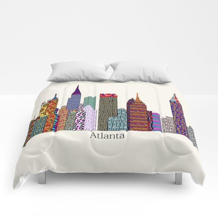 Atlanta city  Comforters