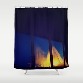Fogged Perspective Shower Curtain