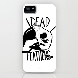DEAD FEATHERS CREST iPhone Case