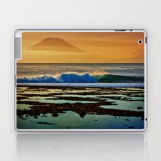 Indonesian Wave and Volcano Laptop & iPad Skin