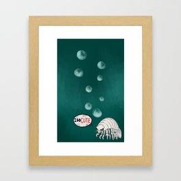 ISOcute Framed Art Print