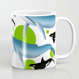 Whale pattern Coffee Mug