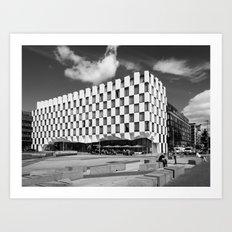 Dublin Docklands (RR 148) Art Print