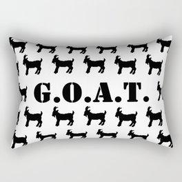 The GOAT Print Rectangular Pillow