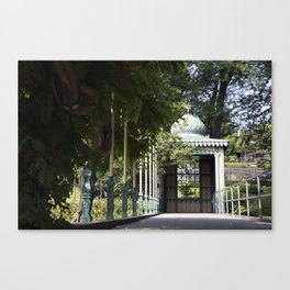 German Garden Canvas Print