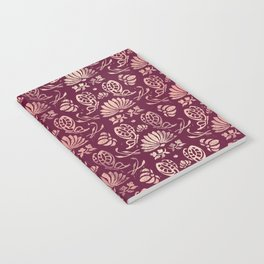 Classic Floral Pattern Notebook