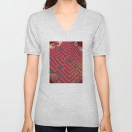 Domino Labyrinth Unisex V-Neck