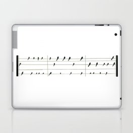 Musical Birds Laptop & iPad Skin